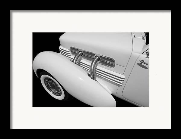 Classic Car Framed Print featuring the photograph Classic Lines by Aaron Berg