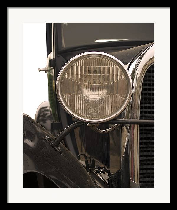 Automobiles Framed Print featuring the photograph Classic by Ron Kizer