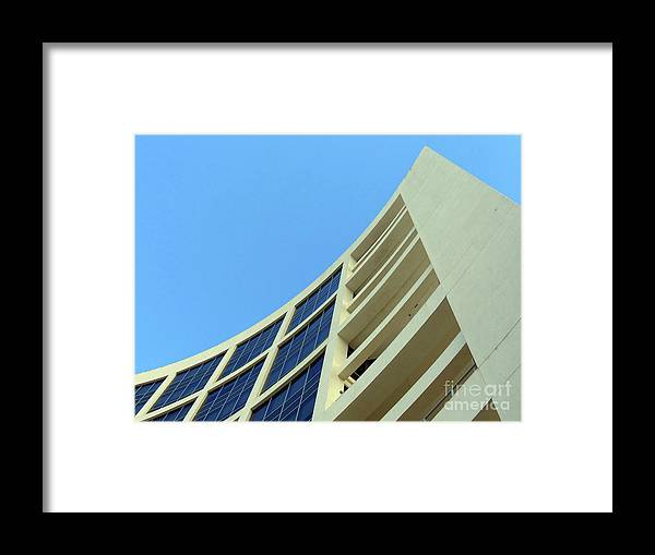 Building.modern Architecture Framed Print featuring the photograph Clean Lines by Carlos Amaro