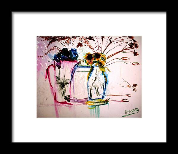 Still Life Framed Print featuring the painting Clear by Jack Diamond