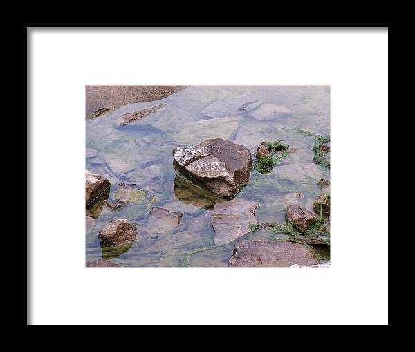 Water Framed Print featuring the photograph Clear Waters by Vijay Sharon Govender