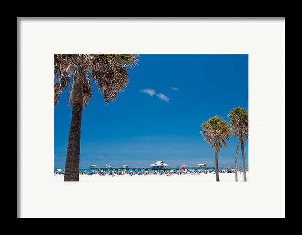 3scape Photos Framed Print featuring the photograph Clearwater Beach by Adam Romanowicz