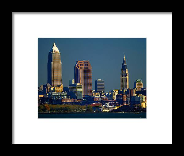 Cleveland Framed Print featuring the photograph Cleveland by Neil Doren