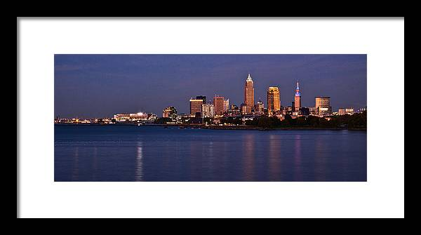 Cleveland Framed Print featuring the photograph Cleveland Ohio by Dale Kincaid