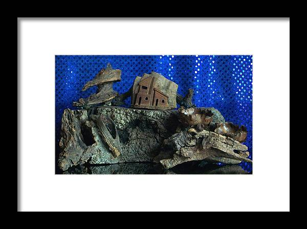 Cliff Framed Print featuring the photograph Cliff Dwelling by Carolyn Cable
