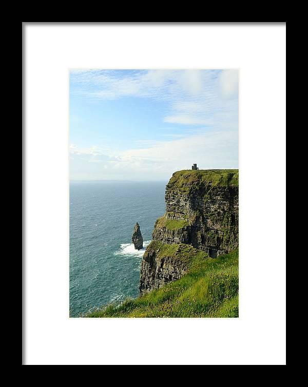 Ireland Framed Print featuring the photograph Cliffs Of Moher by Jennifer Raschig