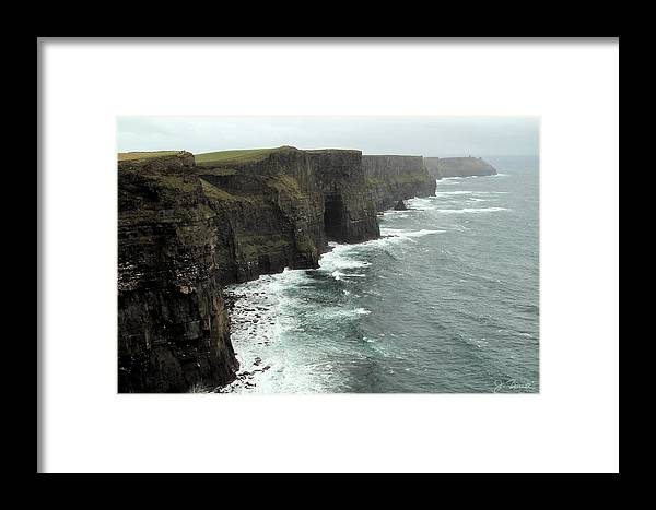 Cliffs Of Moher Framed Print featuring the photograph Cliffs Of Moher by Joe Bonita