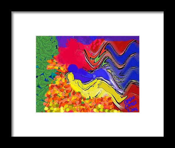 Arte Framed Print featuring the painting Climax by Carlos Camus