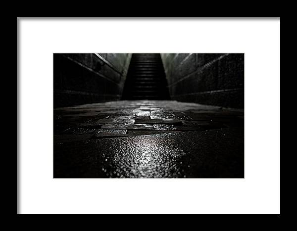 Stairs Framed Print featuring the photograph Climb by John Gagnon