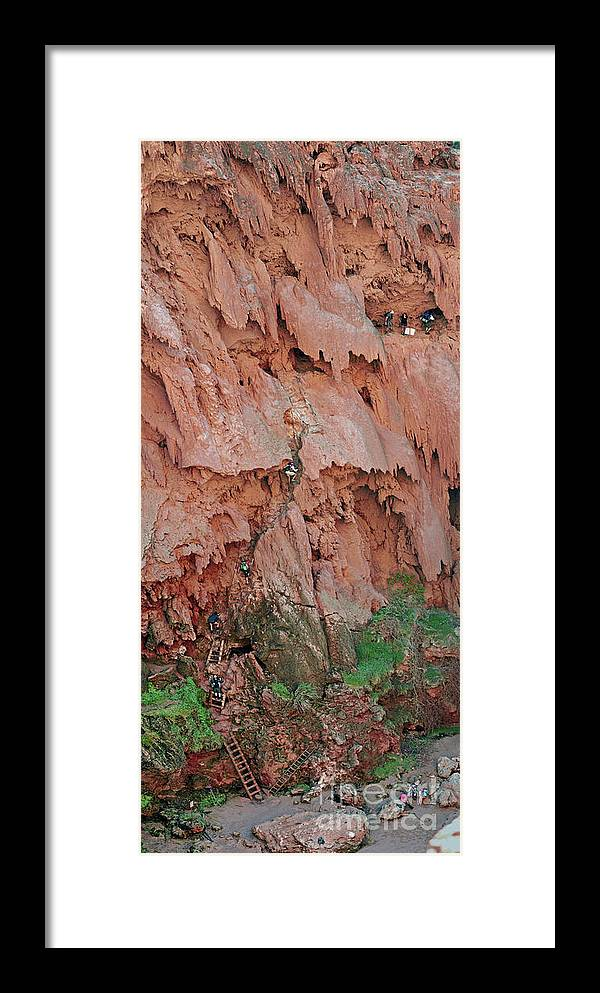 Reservation Framed Print featuring the photograph Climbing Mooney by Jim Chamberlain