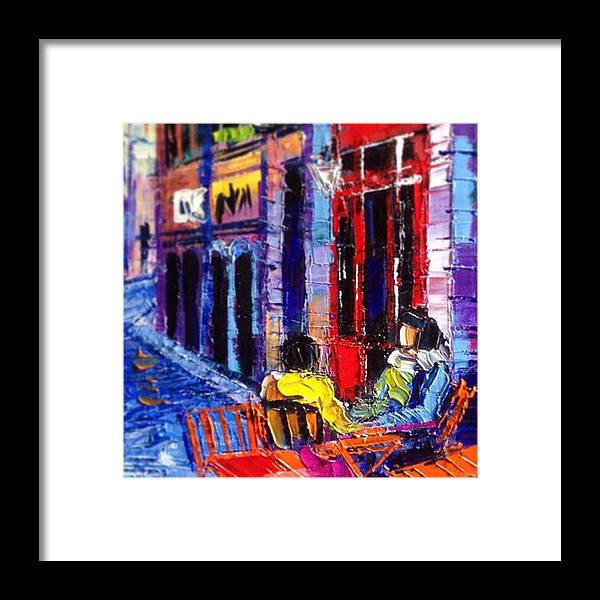 Monaedulesco Framed Print featuring the photograph Close Up Shot From My New Series Of 40 by Mona Edulesco