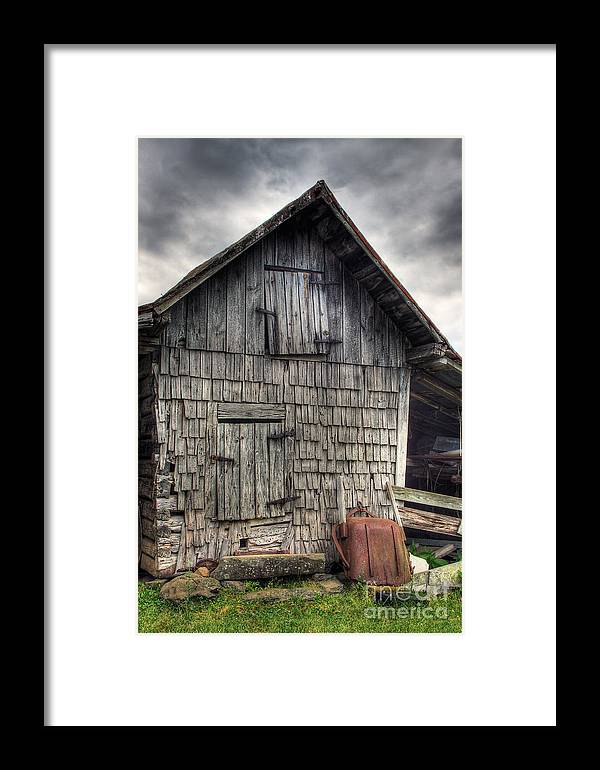 Landscape Framed Print featuring the photograph Closed For Business by Pete Hellmann