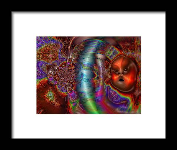 Fantasy Framed Print featuring the digital art Closer Than You Think by Mystic Healing Art