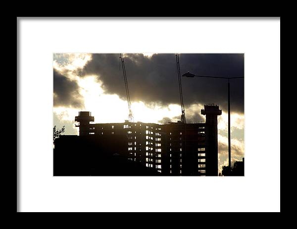 Jez C Self Framed Print featuring the photograph Closing Of The Day by Jez C Self