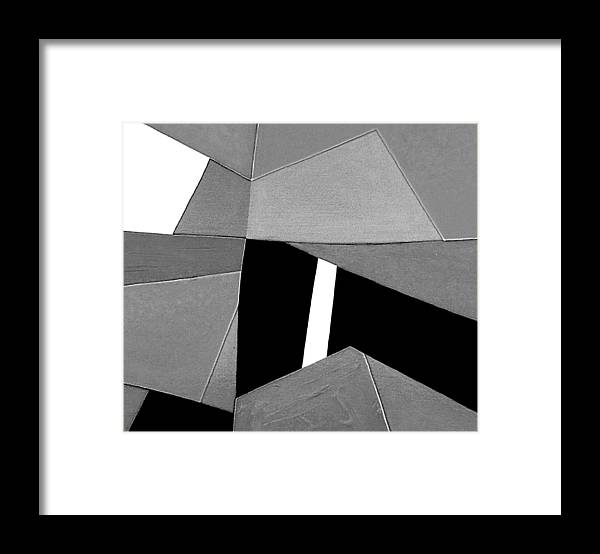 Abstract Framed Print featuring the photograph Closing Time Detail 2 by Dick Sauer