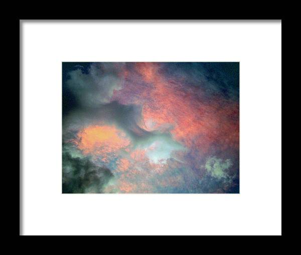 Photo Framed Print featuring the photograph Cloud Abstract 2 by Michael Durst