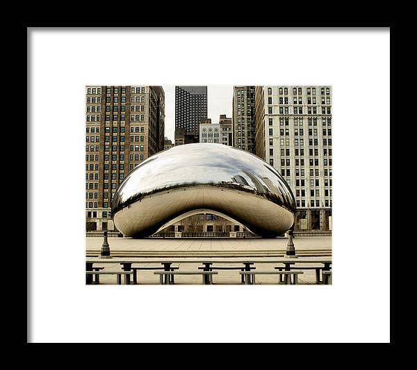 Chicago Framed Print featuring the photograph Cloud Gate - 3 by Ely Arsha