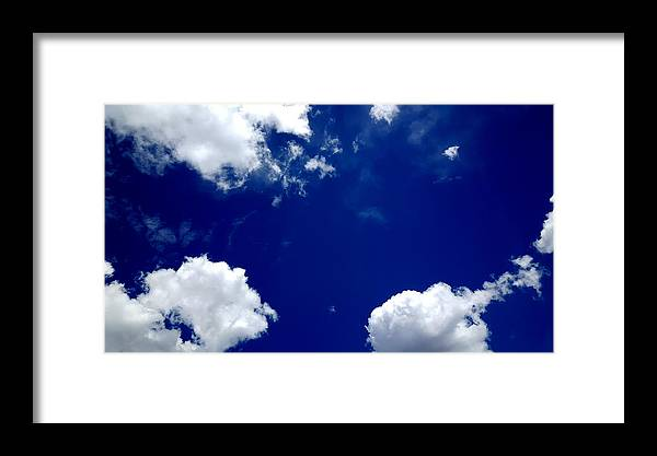 Clouds Framed Print featuring the photograph Clouds 52816 by Travis Gearhart