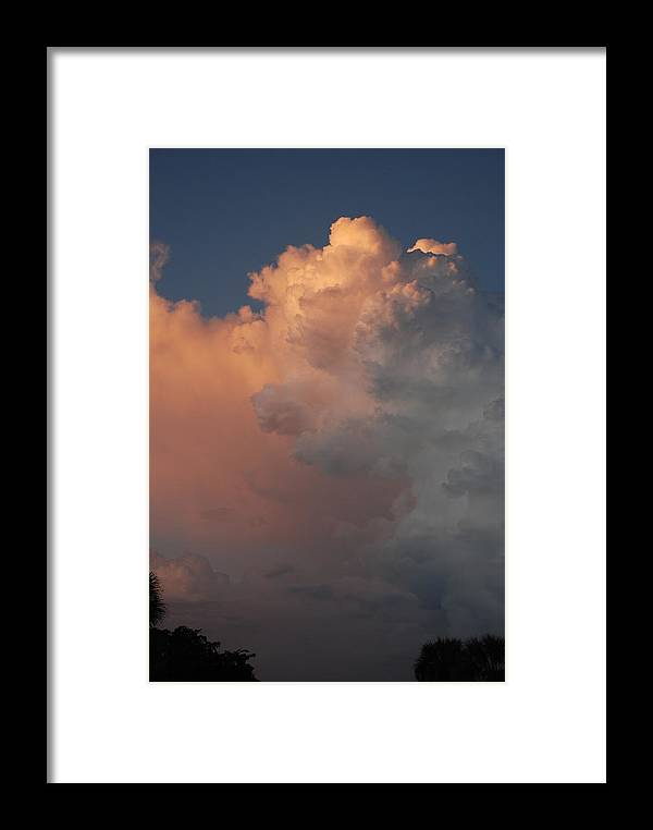 Clouds Framed Print featuring the photograph Clouds And More Clouds by Rob Hans