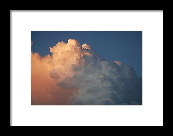 Clouds Framed Print featuring the photograph Clouds Are Always Greener by Rob Hans