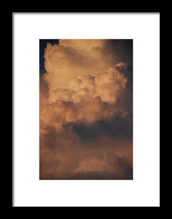 Clouds Framed Print featuring the photograph Clouds In Color by Rob Hans