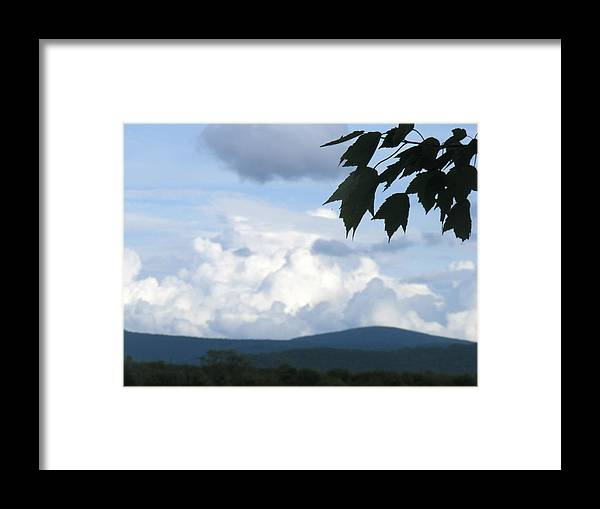 Clouds Framed Print featuring the photograph Clouds by James and Vickie Rankin