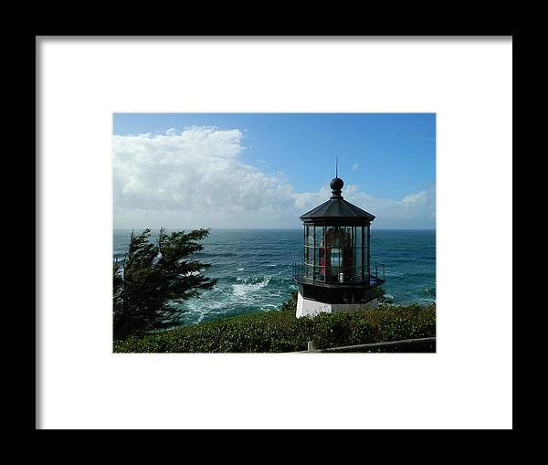 Oregon Framed Print featuring the photograph Clouds Moving In by Gallery Of Hope