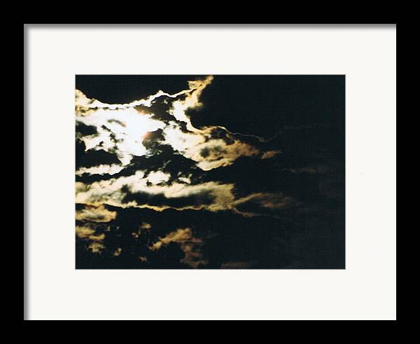 Moonlight Framed Print featuring the photograph Cloudscape I by Curtis Schauer