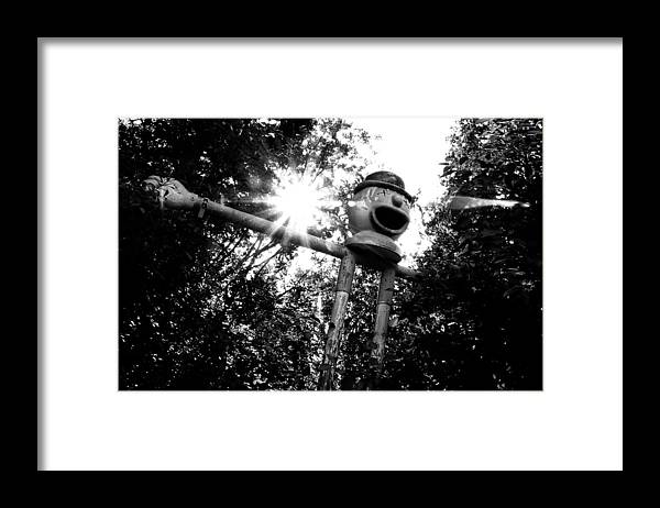 Clown Framed Print featuring the photograph Clown by Tom Melo