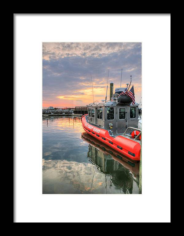 Joint Base Anacostia Bolling Framed Print featuring the photograph Coast Guard Anacostia Bolling by JC Findley