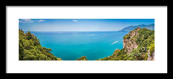 Amalfi Framed Print featuring the photograph Coast To Coast by JR Photography