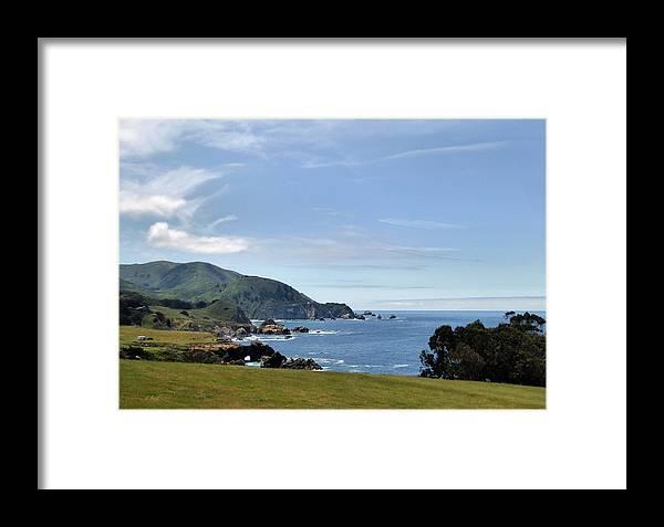 Sea Framed Print featuring the photograph Coastal California by Gordon Beck