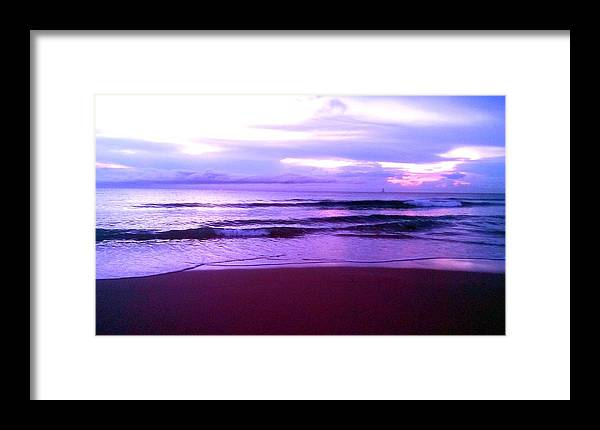 East Coast Framed Print featuring the photograph Coastal Sunrise 1 by Jenn Beck