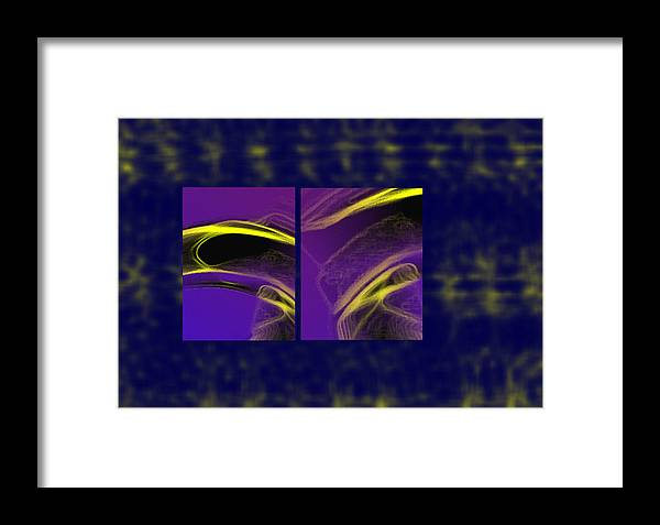 Abstract Framed Print featuring the digital art Cobra by Steve Karol