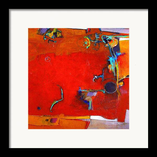 Abstract Framed Print featuring the digital art Coffee Cafe by Dale Witherow