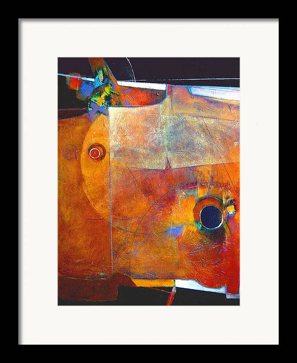 Print Framed Print featuring the painting Coffee Cup Eclipse by Dale Witherow