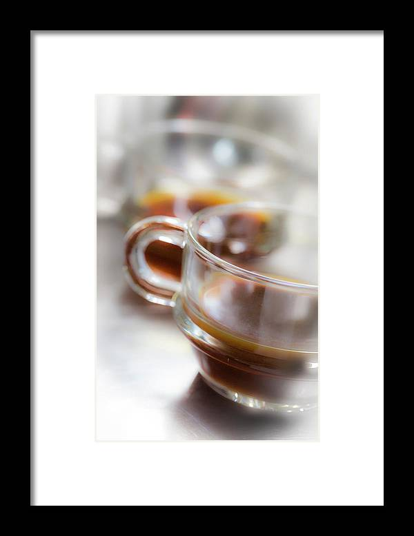 Coffee Framed Print featuring the photograph Coffee by Keith May