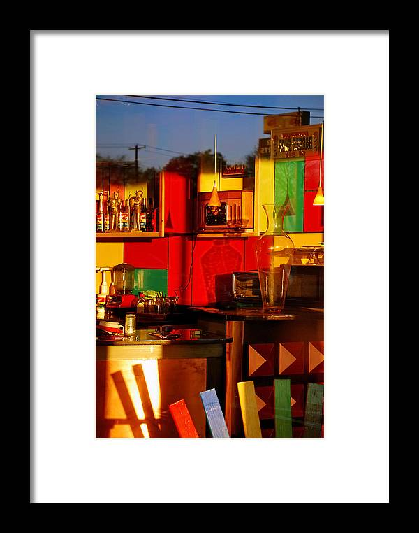 Skip Hunt Framed Print featuring the photograph Coffee Shop by Skip Hunt