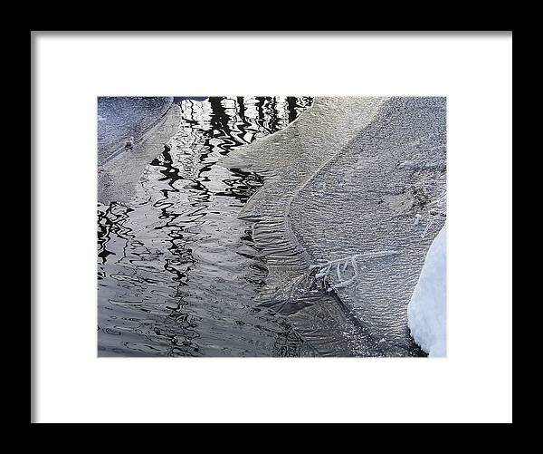 Nature Framed Print featuring the photograph Cold Enough To Frost A Stick by Terrance DePietro