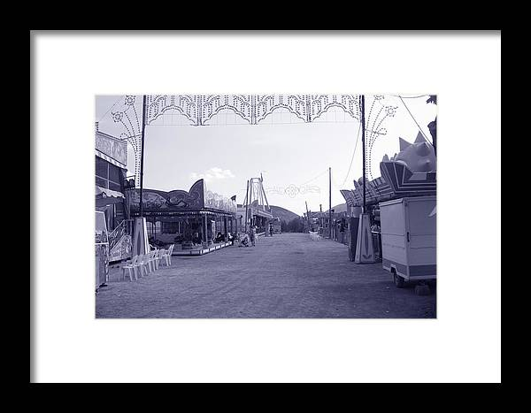 Photographer Framed Print featuring the photograph Cold Fair by Jez C Self