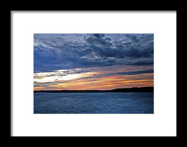 Sunset Framed Print featuring the photograph Cold Front by Phill Doherty