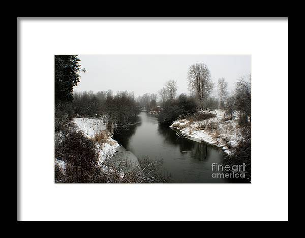 River Framed Print featuring the photograph Cold River by Idaho Scenic Images Linda Lantzy
