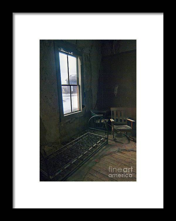 Bodie California Framed Print featuring the photograph Cold Window Light by Norman Andrus