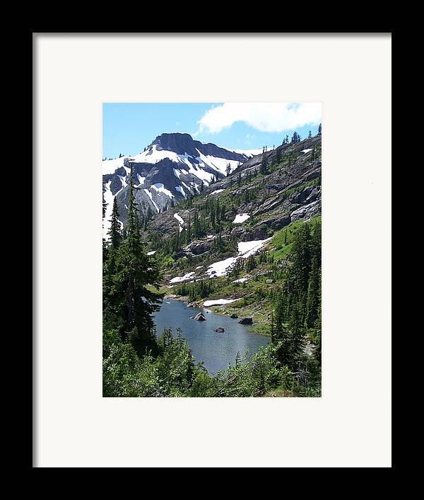 Mountian Framed Print featuring the photograph Coleman Pinnacle by Gene Ritchhart