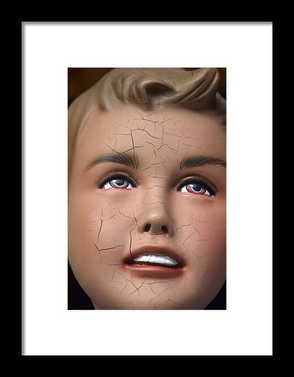 Mannequin Framed Print featuring the photograph Colin by Jez C Self