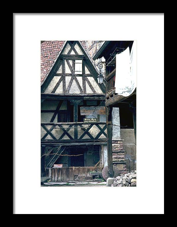 Colmar Framed Print featuring the photograph Colmar by Flavia Westerwelle