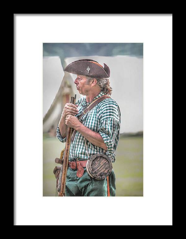 Nra Framed Print featuring the digital art Colonial Militia Call To Arms by Randy Steele