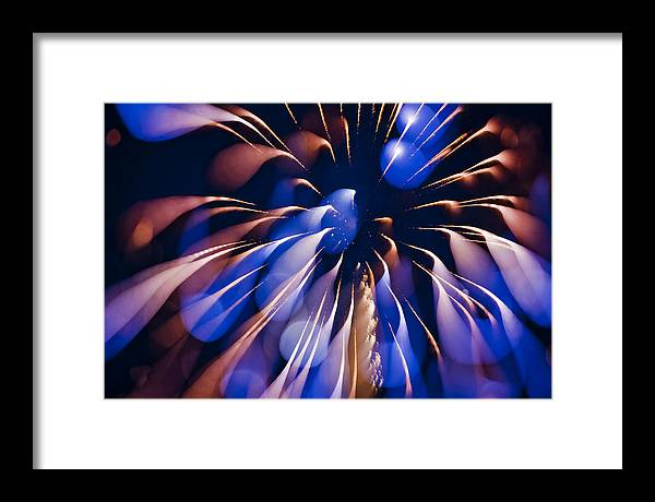 Fireworks Framed Print featuring the photograph Color Explosion K863 by Yoshiki Nakamura