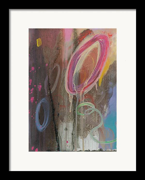Color Framed Print featuring the painting Color Isn by F Michael Wells