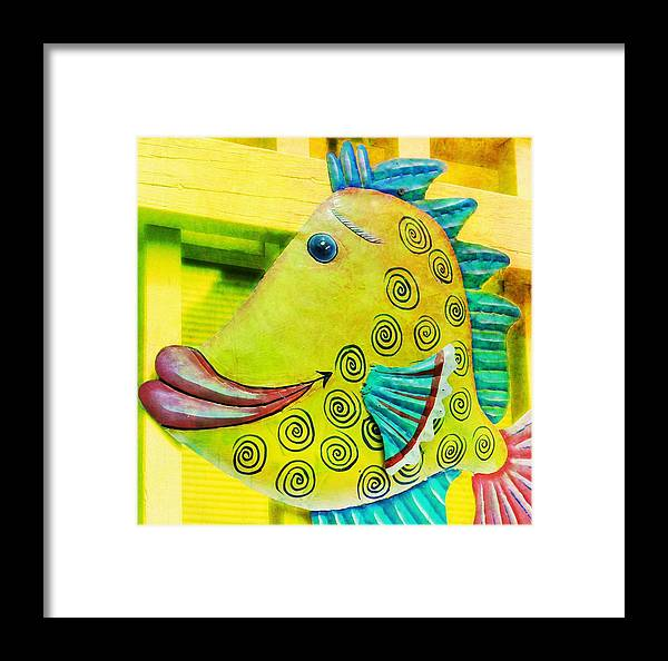 Yellow Framed Print featuring the photograph Color Me Happy by JAMART Photography